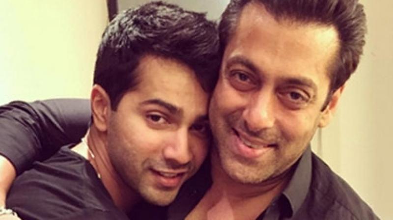Varun Dhawan and Salman Khan.