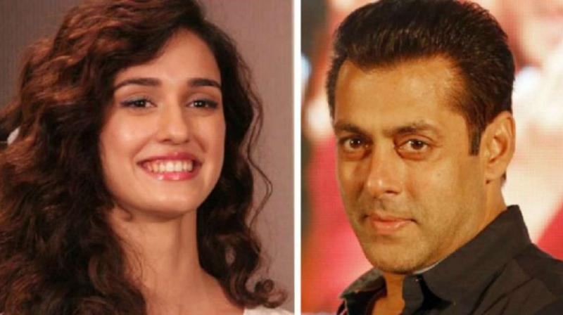 Disha Patani and Salman Khan.