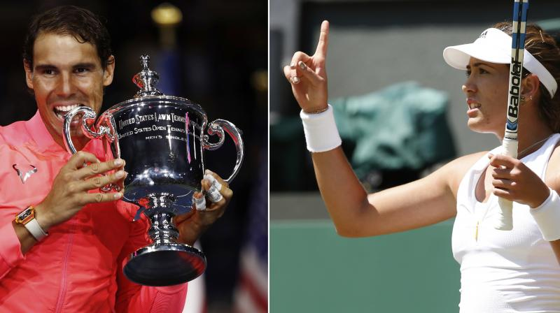Thanks to Rafael Nadal and Garbine Muguruza, Spain has become the first country to top the WTA and ATP rankings simultaneously since 2003. (Photo: AP)