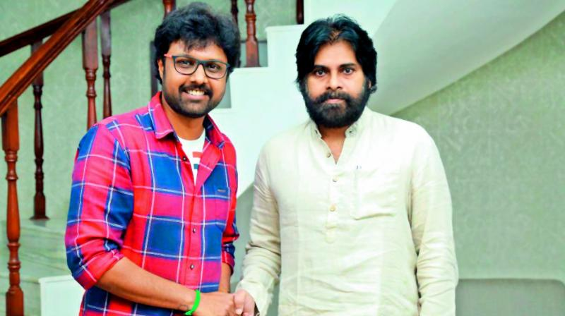 Now, the film's makers have revealed that the breezy entertainer will feature the remixed version of Ee Manase, the hit number from the 1998-Pawan-Kalyan-starrer Tholi Prema. And the redux song was launched on Sunday by none other than Pawan.