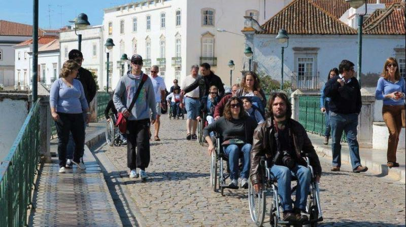 "He is now collaborating with the tourism department to make tourism sites accessible. He said, ""We visited a few places in Dubai and Abu Dhabi and facilities are provided to persons with disabilities. In Grand Mosque, we could go till the end-point where others could also go to. To enable the movement of wheelchair-bound persons mats were put up."""