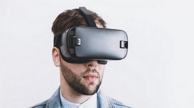 Each patient used a VR headset to 'visit' one of five virtual environments (VEs) of a cathedral, a forest, a sandy beach, a rocky beach, and a countryside scene. Sixteen sessions were monitored with feedback gathered from patients and their caregivers. (Photo: ANI)