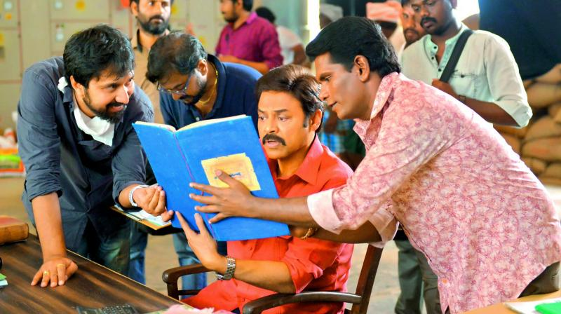 The film's shoot is complete and that the makers are planning to release it next month to mark Venkatesh's birthday that falls on December 13.