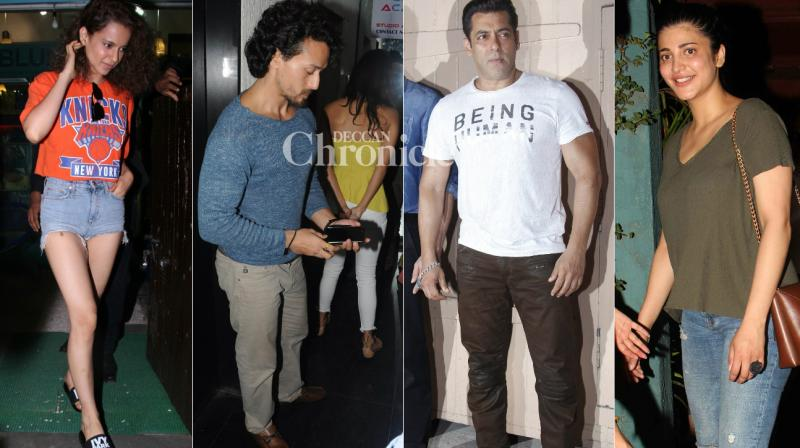 Paparazzi were well-prepared as they spotted Bollywood celebrities at various locations in Mumbai on Tuesday. (Photo: Viral Bhayani)