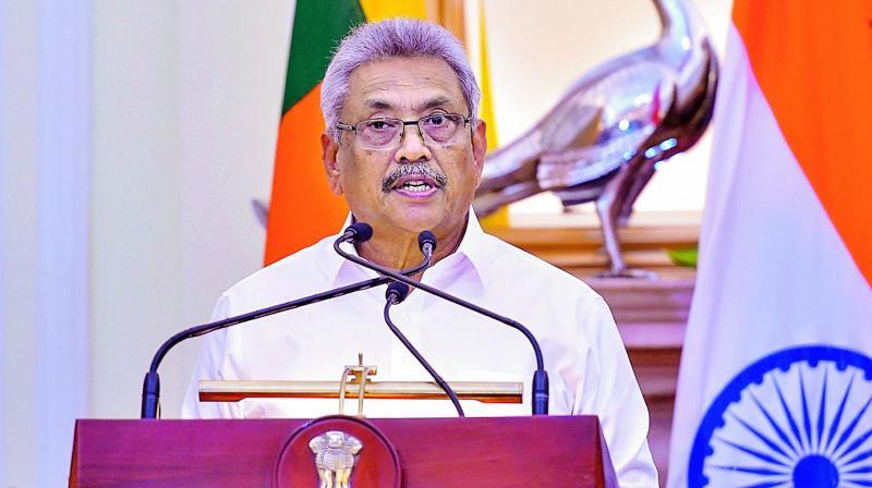 Gotabaya Rajapaksa.