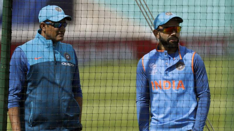 """Anil Kumble tendered his resignation as chief coach of the Indian team after the ICC Champions Trophy due to """"untenable"""" differences with skipper Virat Kohli. (Photo: AP)"""
