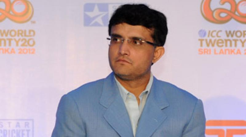 The former Indian captain, Sourav Ganguly, has picked two youngsters who can rival KL Rahul for the No 4 position for India in ODIs. (Photo: AFP)