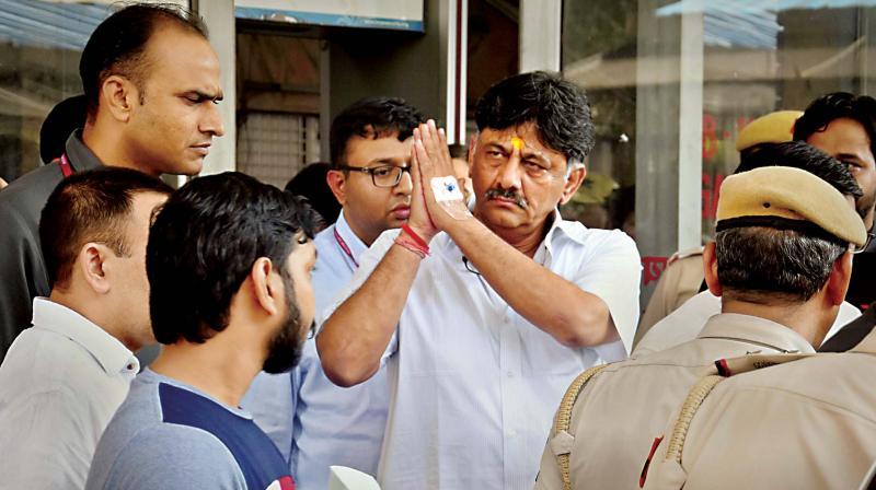 Congress leader D.K. Shivakumar. (Photo: File)