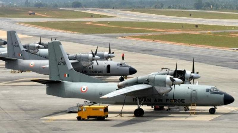 The aircraft last contacted ground sources at 1 PM today after taking off from Jorhat airbase at 12:25 pm. (Photo: AFP)