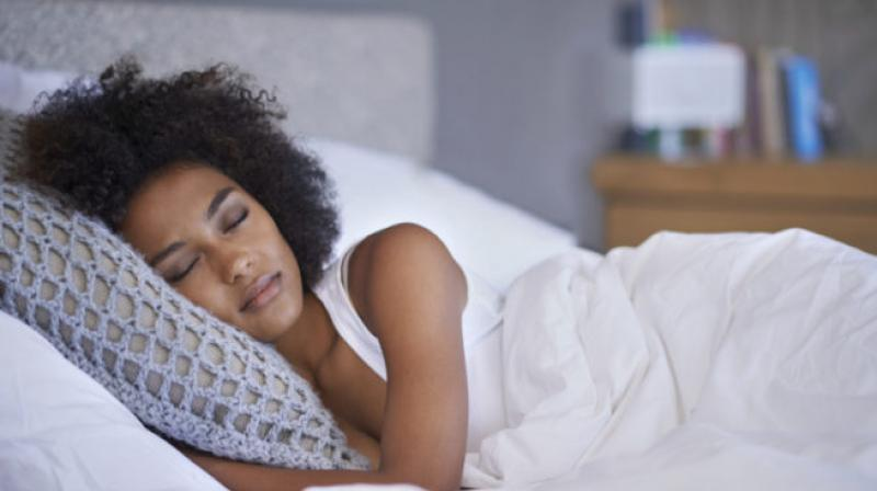 A good night's sleep can work wonders for overall well being (Photo: AFP)