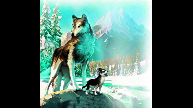 Based on the 1906 book by Jack London, White Fang is the story of a wolf dog in the Canadian Yukon.