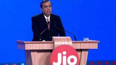 Ambani on Monday announced the roll-out of Jio Fiber from September 5, promising free voice calls for life from landlines.
