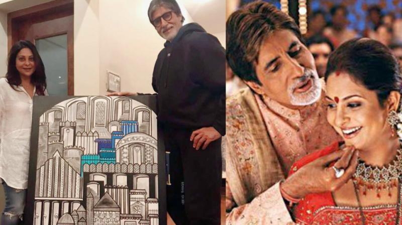 Amitabh Bachchan and Shefali Shah played a couple in 'Waqt: The Race Against Time.'