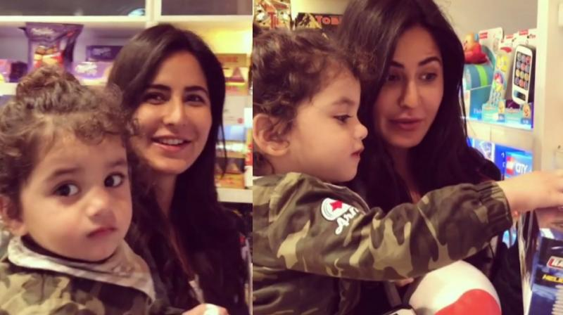 Screengrabs from the video featuring Katrina Kaif posted on Instagram.