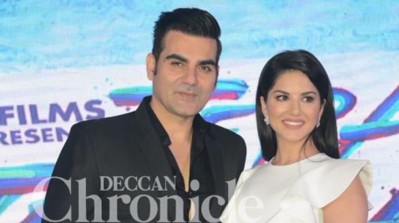 Arbaaz Khan and Sunny Leone