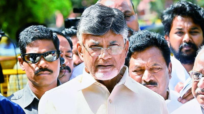 Andhra Pradesh Chief Minister N. Chandrababu Naidu (PTI)