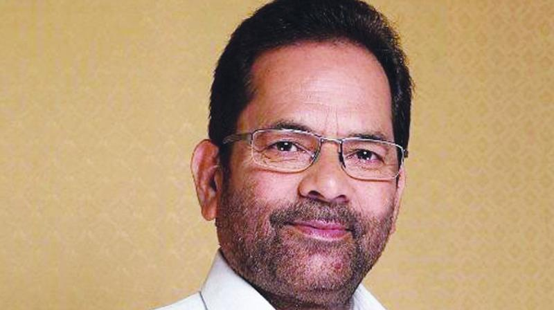 'Even after all the ruckus over EVMs, did you find any discrepancy in the matching of VVPATs and EVMs?' Naqvi asked. (Photo: File)