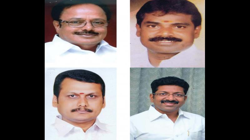 DMK nominated 4 former ministers for Assembly bypolls