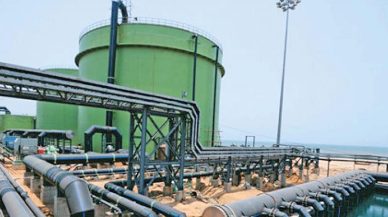 Madipakkam to get desalinated water