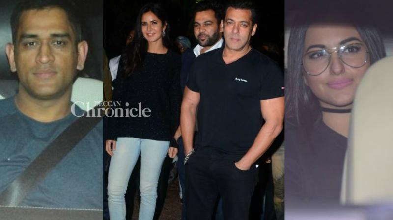 Salman Khan celebrated his 52nd birthday at his Panvel farmhouse with several stars in attendance. (Photo: Viral Bhayani)