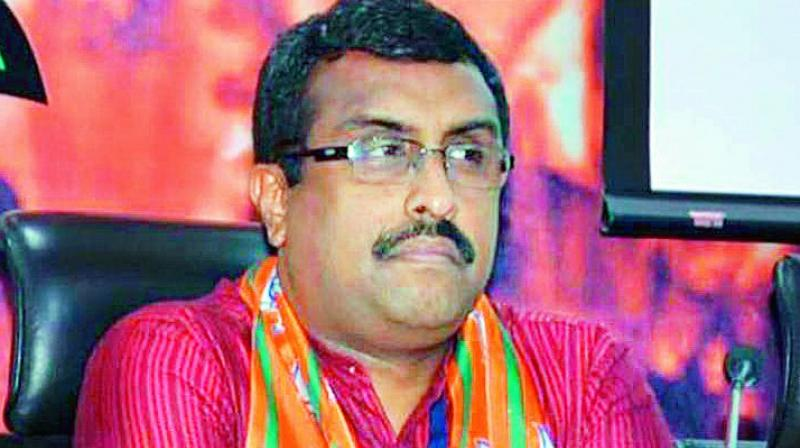 The rally was addressed by BJP national general secretary Ram Madhav. (Photo: File)