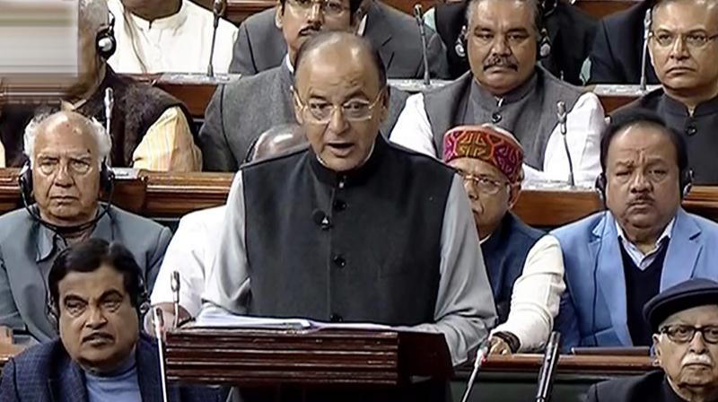 Arun Jaitley, Finance Minister of Narendra Modi-led NDA government presented the Union budget 2018-19 on Thursday. (Photo: PTI)