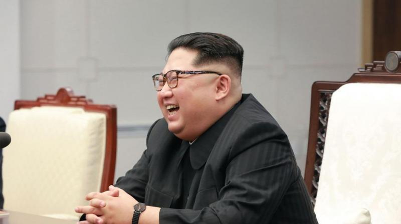 Kim vowed with Moon to seek denuclearisation and pursue a formal end to the 1950-53 Korean War through a peace treaty with Seoul.  (Photo: AFP)