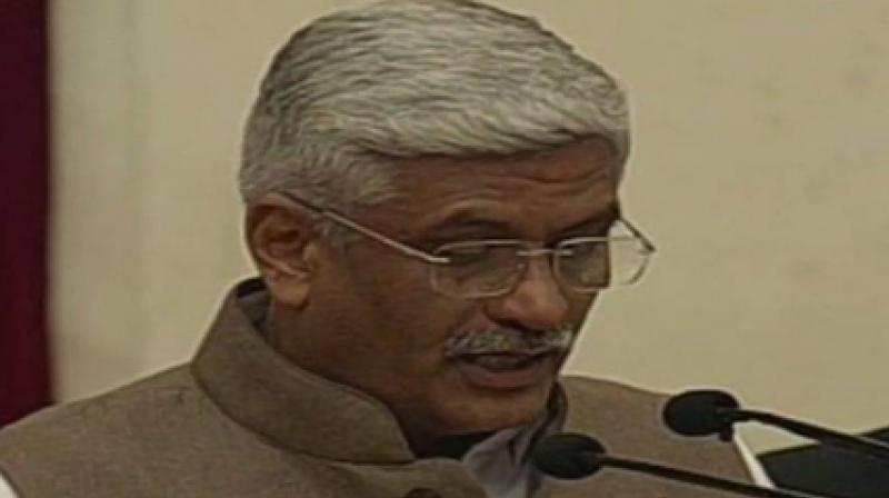 Gajendra Shekhawat dragged the Gandhi family into the intensifying political row over the fighter aircraft deal, alleging that the UPA government had called off the multi-billion USD deal after a private company linked to Vadra was not chosen as a broker. (Photo: ANI)