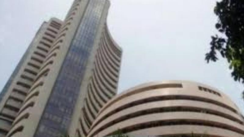 The broader NSE Nifty was quoting 23.45 points, or 0.20 per cent, down at 11,668. (Photo: File)