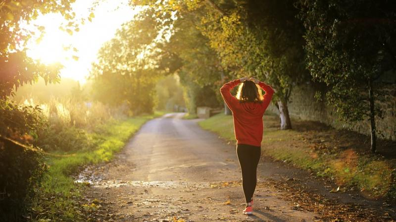 Just 20 minutes of physical activity daily can improve heart health. (Photo: Pixabay)