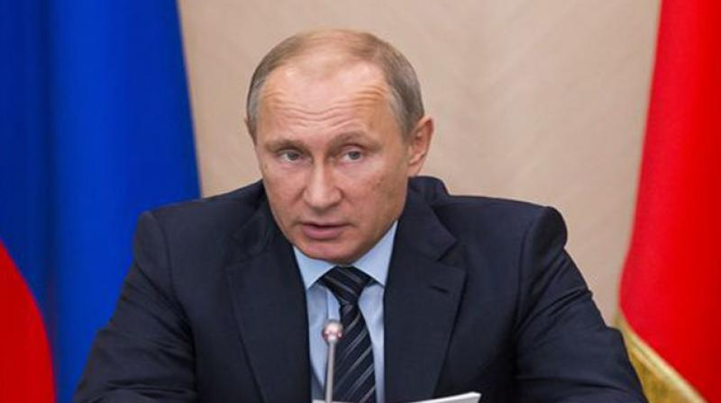 Putin called Wednesday's blast in his home city of Saint Petersburg an 'act of terror' and on Friday warned armed criminals they faced being 'liquidated on the spot.' (Photo: File)