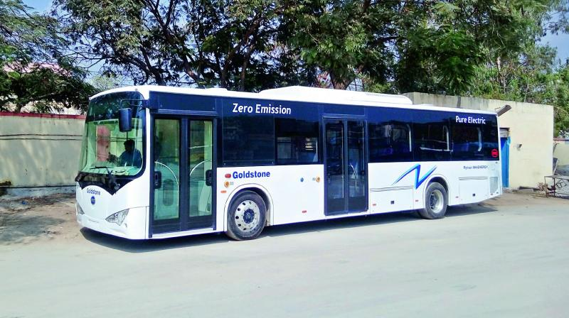The main objective of 'Kochi E-Bus Ltd' will be introduction of electric buses in Kochi city in accordance with the Centre and state policy.  (Photo: DC)