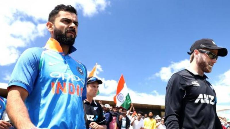 India is next scheduled to play Pakistan on Sunday in Manchester, and New Zealand has South Africa next Wednesday in Birmingham. (Cricket World Cup/Twitter)