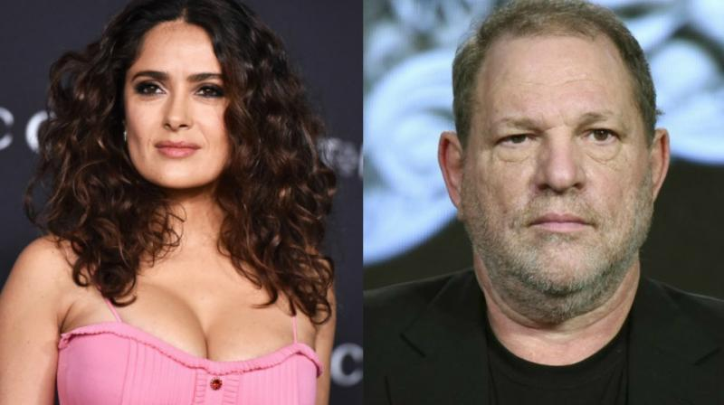 After Angelina Jolie, Gwyneth Paltrow, Meryl Streep, Salma Hayek becomes latest to react on Harvey Weinstein scandal. (Photo: AP)