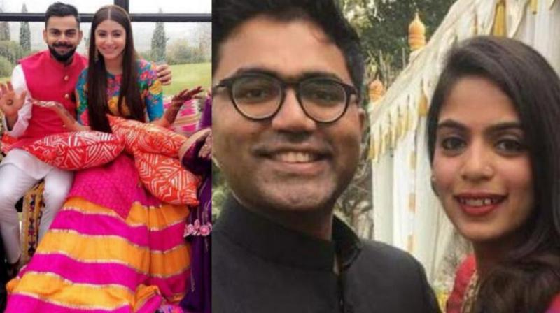 Here is who designed wedding outfit of Virushkha wedding