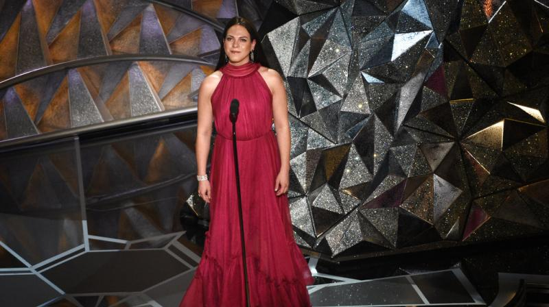 Vega's movie went on to win the prestigious 'Best Foreign Film' Oscar award Sunday night in the category of best foreign film, representing Chile. (Photo: AP)