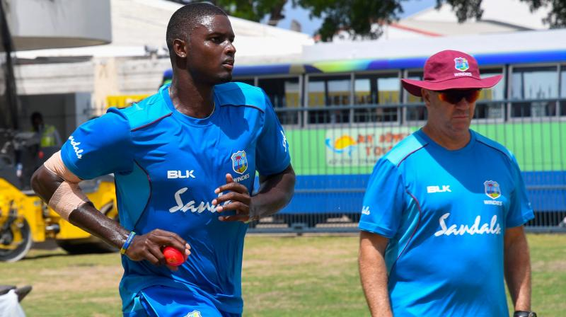 """""""West Indies cricket is not about lack of talent. The skill level is always there. It's about applying that skill, making the right decisions under pressure in the middle of the game. It's a tough place to learn there at the middle,"""" said Stuart Law. (Photo: AFP)"""
