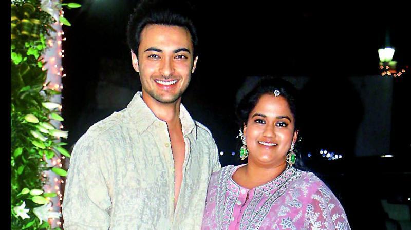 Aayush Sharma and Arpita