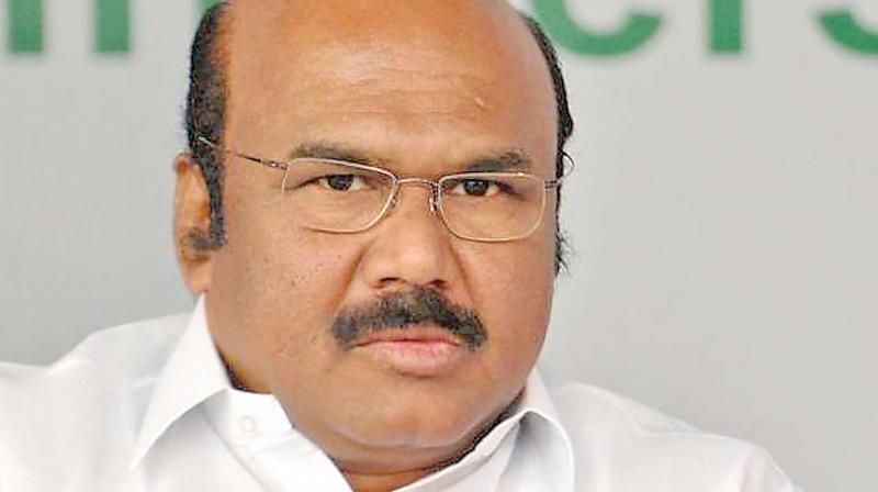 Fnance minister D. Jayakumar