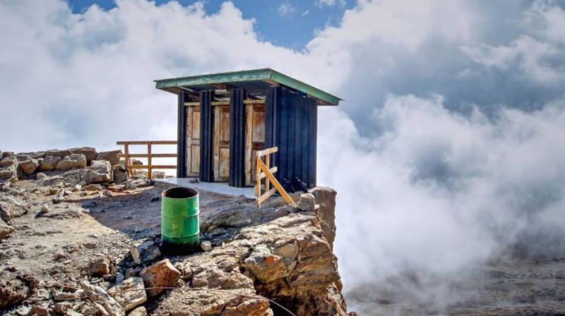 There are 13 toilets that are worth travelling to. (Photo: Facebook / Ultimate Kilimanjaro)