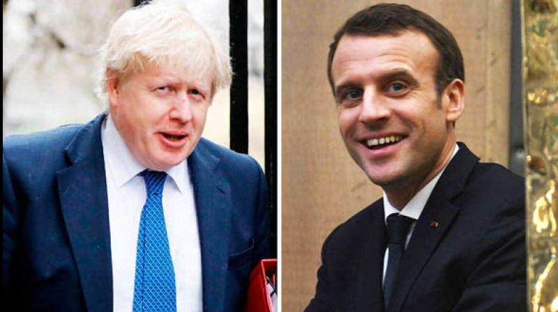 British Prime Minister Boris Johnson visits Paris on Thursday, a day after Berlin offered a glimmer of hope that an agreement could be reached to avoid a chaotic 'no deal' Brexit. (Photo: AFP)