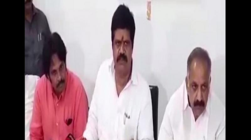 Andhra Pradesh Tourism Minister M Srinivasa Rao said that as many as 10 MLAs from the TDP are ready to join the ruling YSRCP if Chief Minister YS Jagan Mohan Reddy accepts them. (Photo: ANI)
