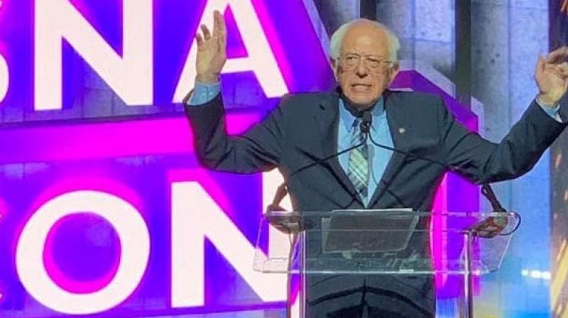 Veteran US Army Colonel Lawrence Sellin on Monday said that Sanders was likely influenced by his Pakistani-American campaign manager and Muslim activist, Faiz Shakir. (Photo: Twitter/ lsarsour)