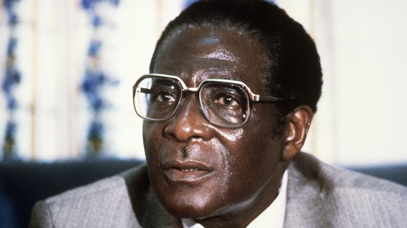 Former Zimbabwean leader Robert Mugabe has died aged 95, the country's President Emmerson Mnangagwa said on his official Twitter account. (Photo: AFP)