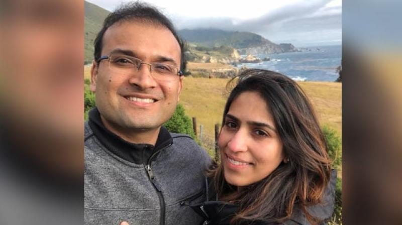 The couple, Kaustubh Nirmal and Sanjeeri Deopujari, lived in Connecticut and were among the people who died aboard the vessel, during a three-day diving excursion. (Photo: Facebook/ Sanjeeri Deopujari)