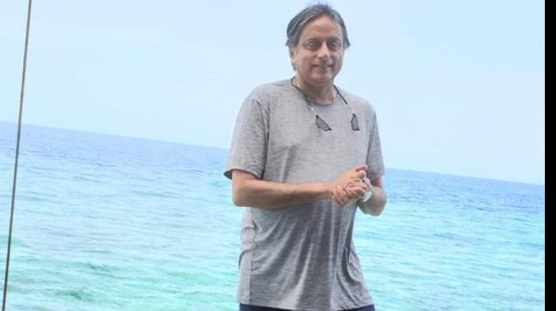 Congress leader Shashi Tharoor is famous for using bizarre words in his speeches and tweets. (Photo: Twitter/ Shashi Tharoor)