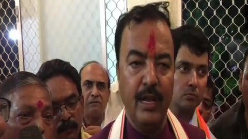 Uttar Pradesh Deputy Chief Minister Keshav Prasad Maurya said that the Bharatiya Janata Party (BJP) will continue to stay in power in the state for the next 50 years. (Photo: ANI)