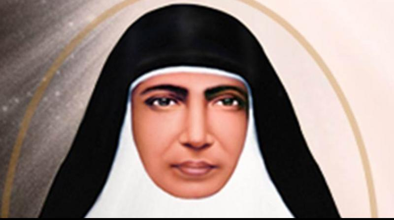 Mariam Thresia, the foundress of the Congregation of the Sisters of the Holy Family (CHF), will be raised to the glory of the altar during a solemn Eucharistic Celebration in Rome's St Peter's Square on Sunday, Vatican News said. (Photo: mariamthresia.org)