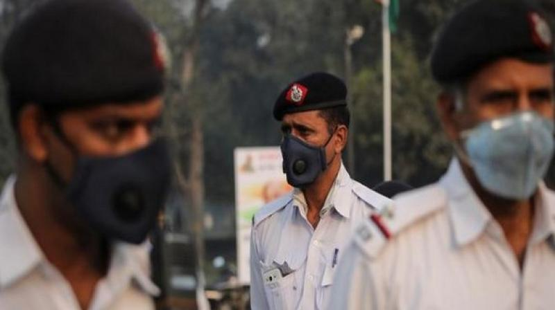 A layer of haze lingered over the national capital on Sunday as its air quality index (AQI) deteriorated further and touched the 245 mark, which falls in the poor category. (Representational Image)