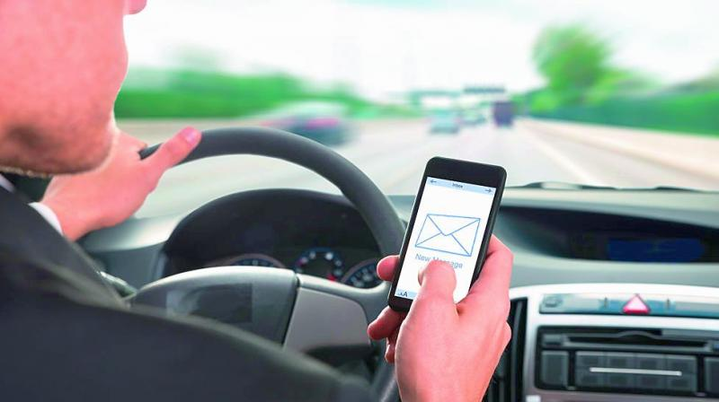 "Research had shown that use of mobile phones behind the wheel was at ""epidemic proportions"" because people did not believe they would be caught. (Representational image)"